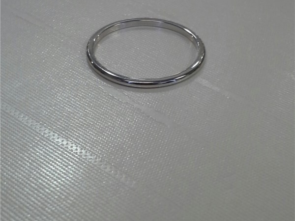 1mm White Gold Band 10k
