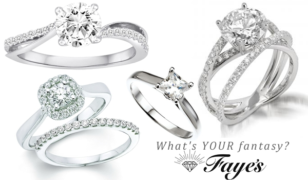 Engagement Rings at Faye's Diamond Mine